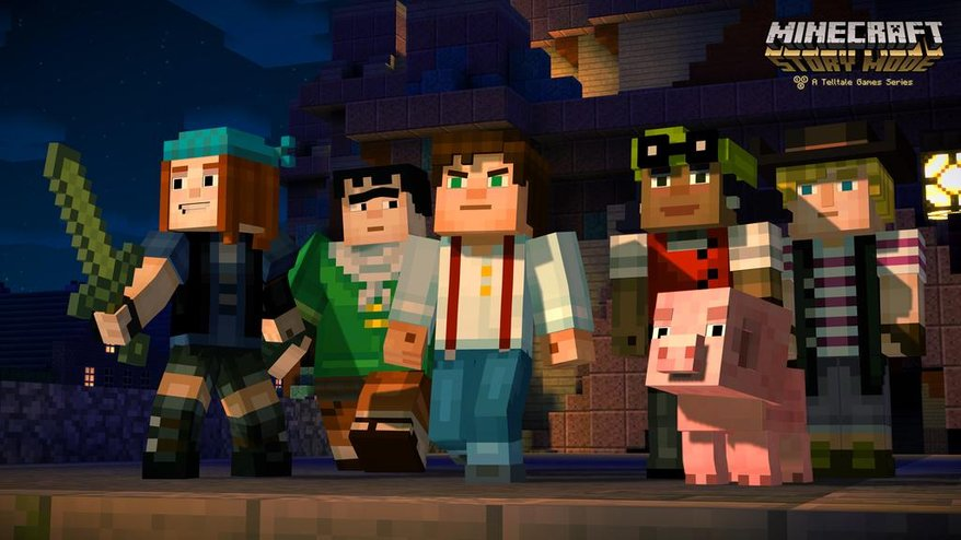Modojo | Check Out Minecraft: Story Mode's Episode One Trailer