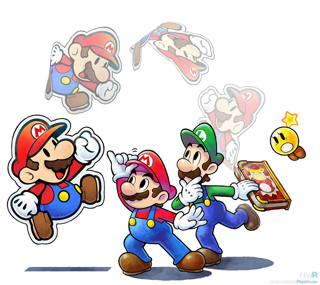 Modojo | Mario & Luigi: Paper Jam Lets You Jam Out With 18 amiibo