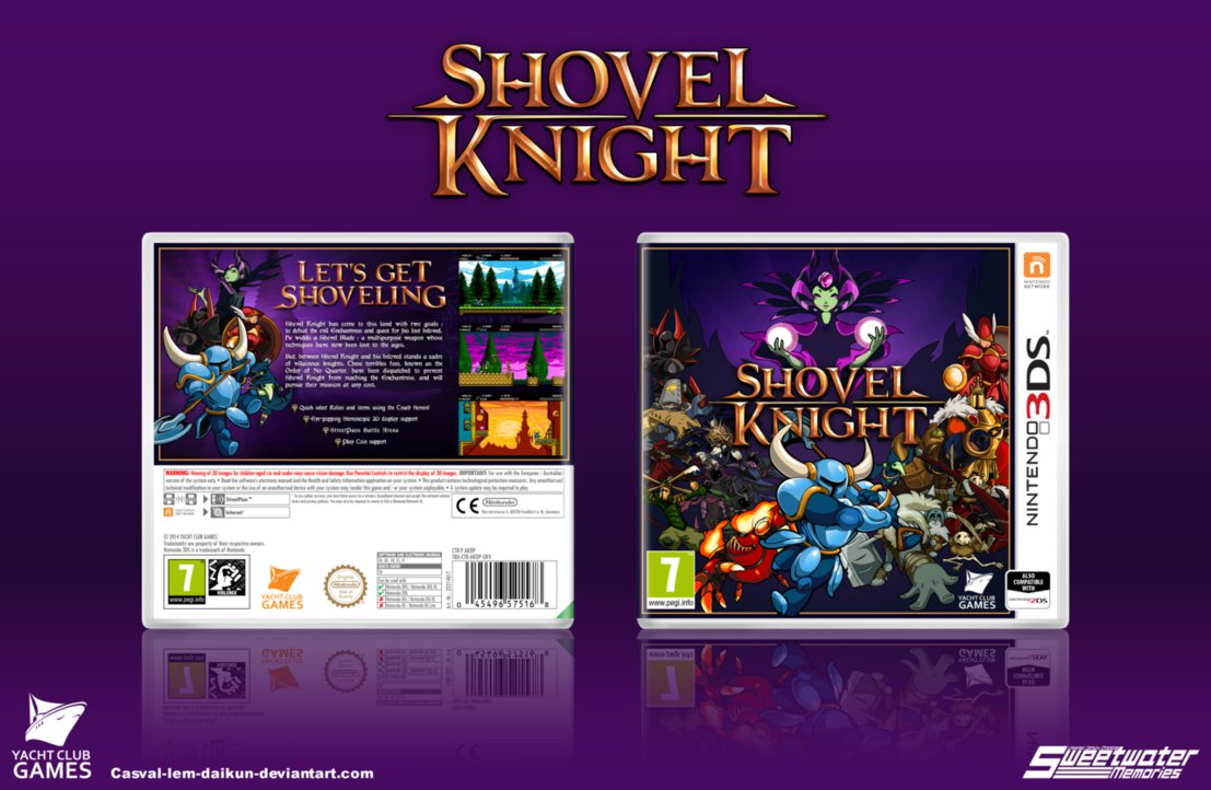 Modojo | Physical Copy of Shovel Knight Finally Gets a Release Date