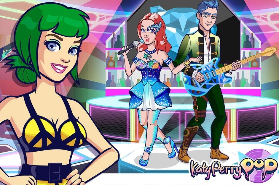 Modojo | Become A Rising Pop Star With Glu Mobile's Katy Perry Pop