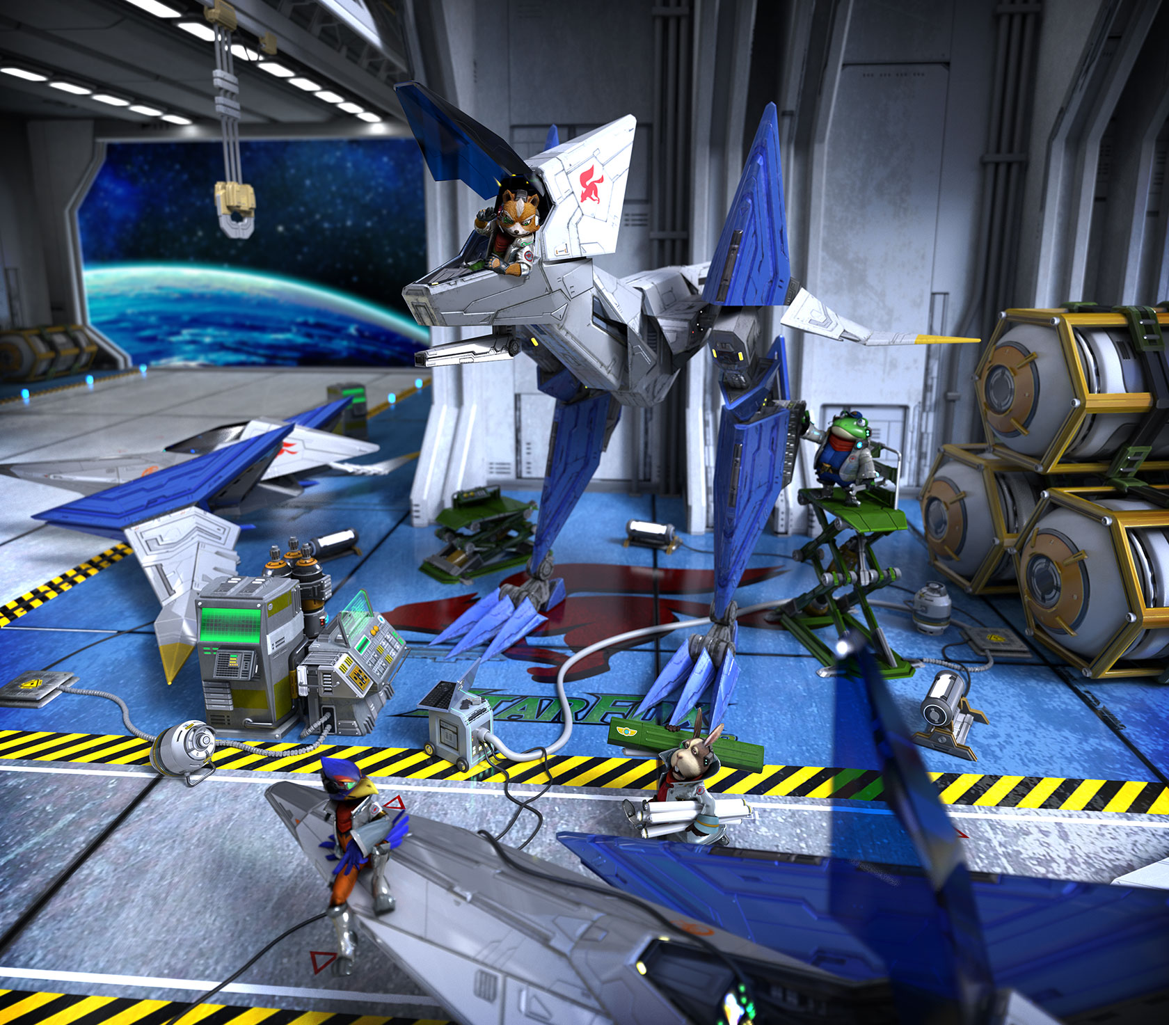 Modojo | Nintendo Deploys Star Fox Zero Teaser Site