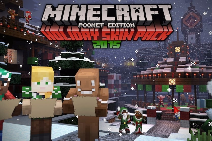 Modojo | Minecraft: Pocket Edition Gets Festive With A New Skin Pack