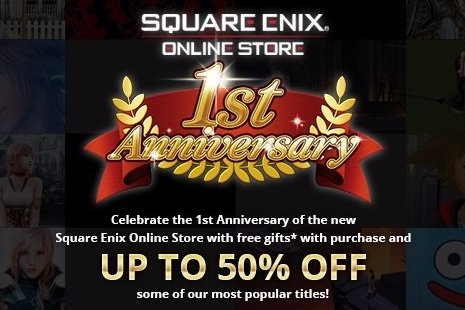 Modojo | Square Enix Store One-Year Anniversary Sale Offers Savings on Wii U, 3DS, and DS Games