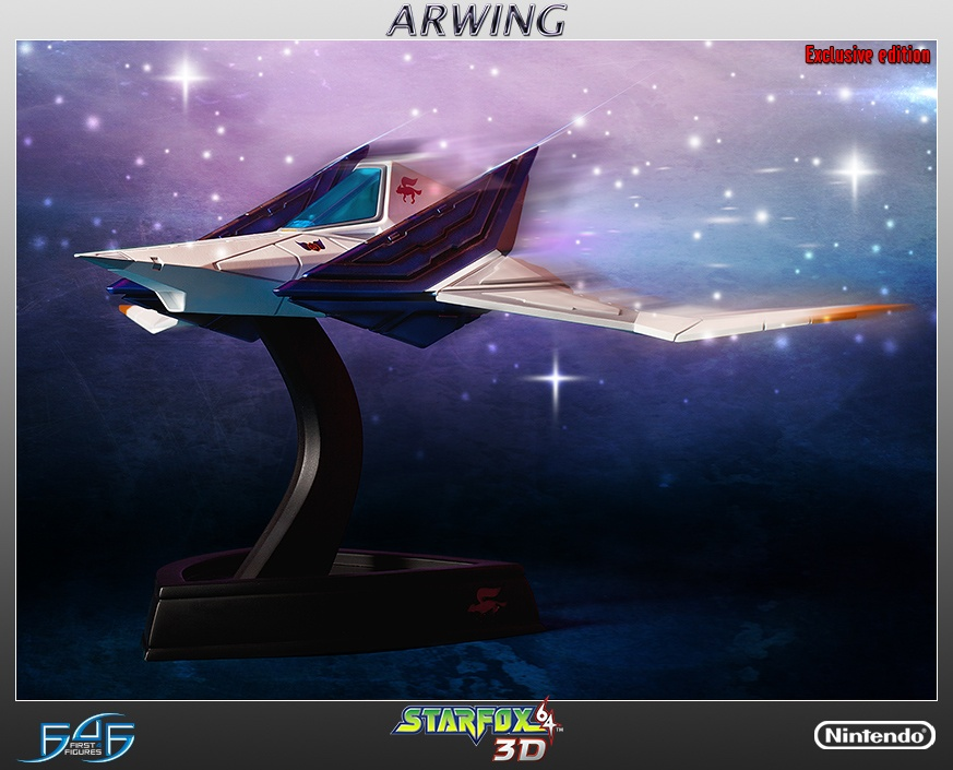 Modojo | Star Fox Fans Need This Arwing Collector's Model