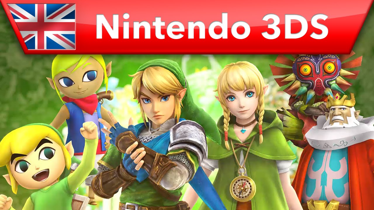 Modojo | See the Playable Cast of Hyrule Warriors Legends in this New Trailer