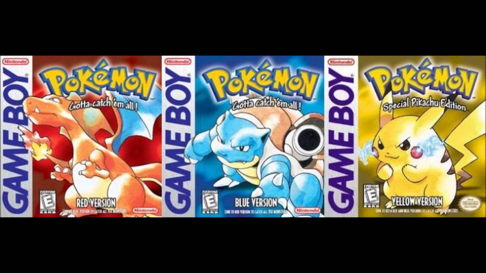 Modojo | Pokémon Red, Blue, and Yellow Are Available Now on the 3DS eShop
