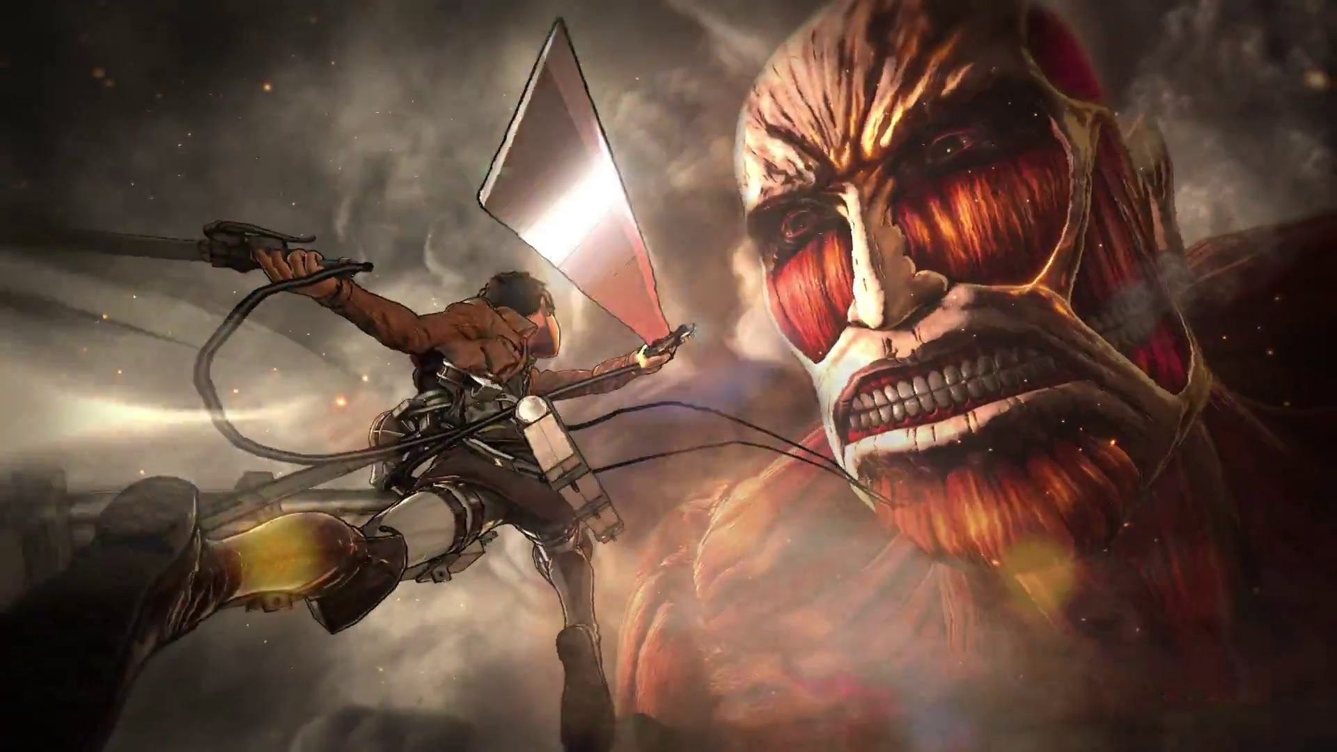 Modojo | Koei Tecmo Releases Videos Detailing the Attack on Titan Battle System
