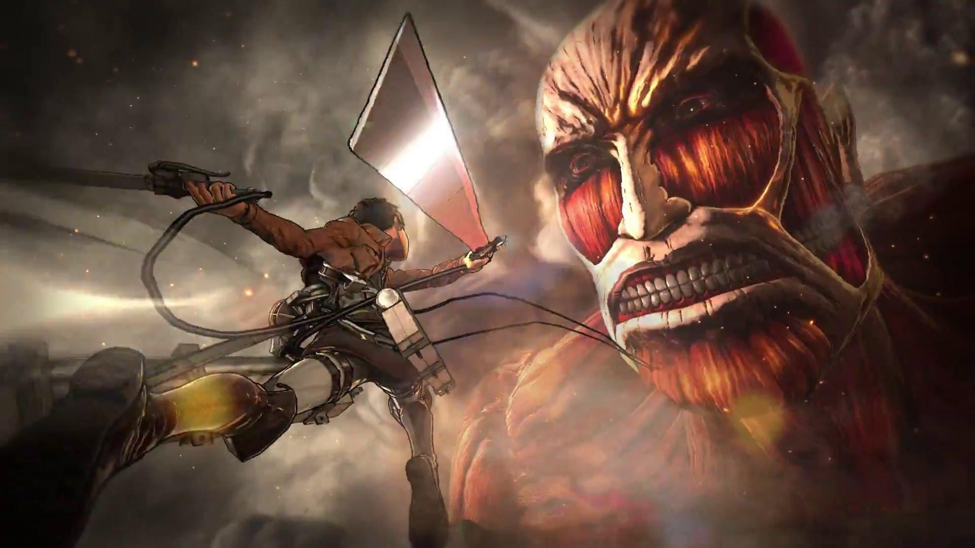 Modojo | Koei Tecmo Releases Videos Detailing the Attack on Titan Battle System