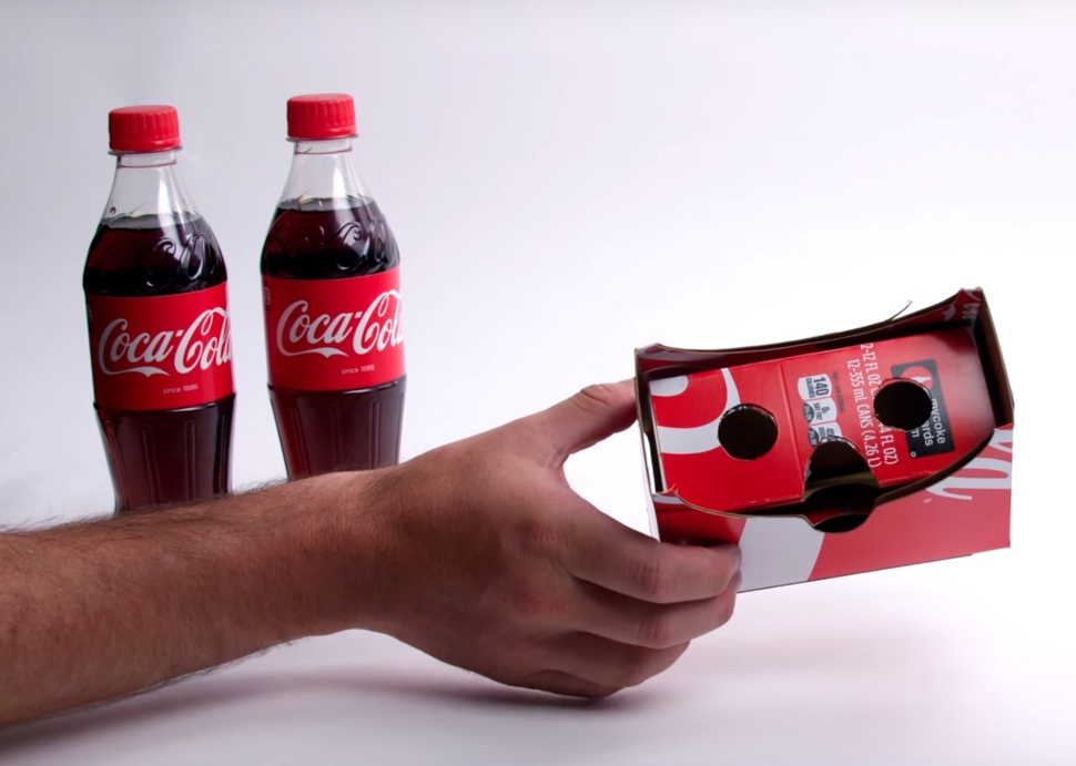 Modojo | Coca-Cola Wants In On The Cardboard VR Craze, Too