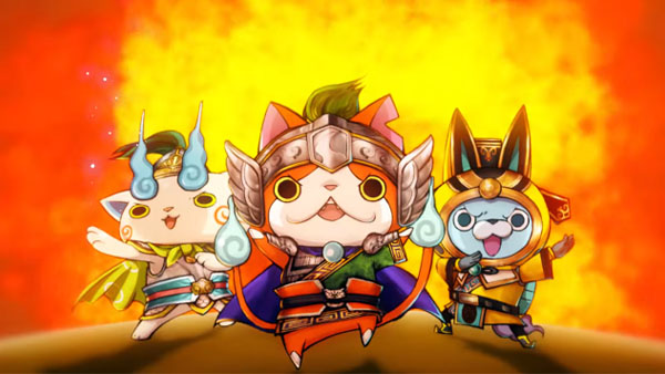 Modojo | Check Out The Opening Video For Yo-Kai Sangokushi