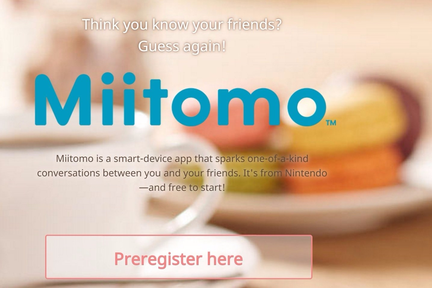 Modojo | Miitomo Is Launching Next Week in Japan