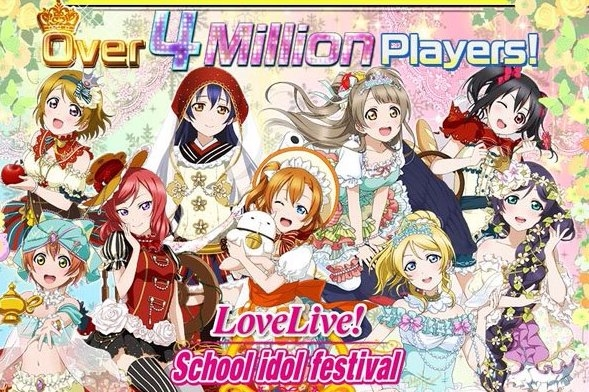 Modojo | Love Live! School Idol Festival's English Version Topped 4 Million Players