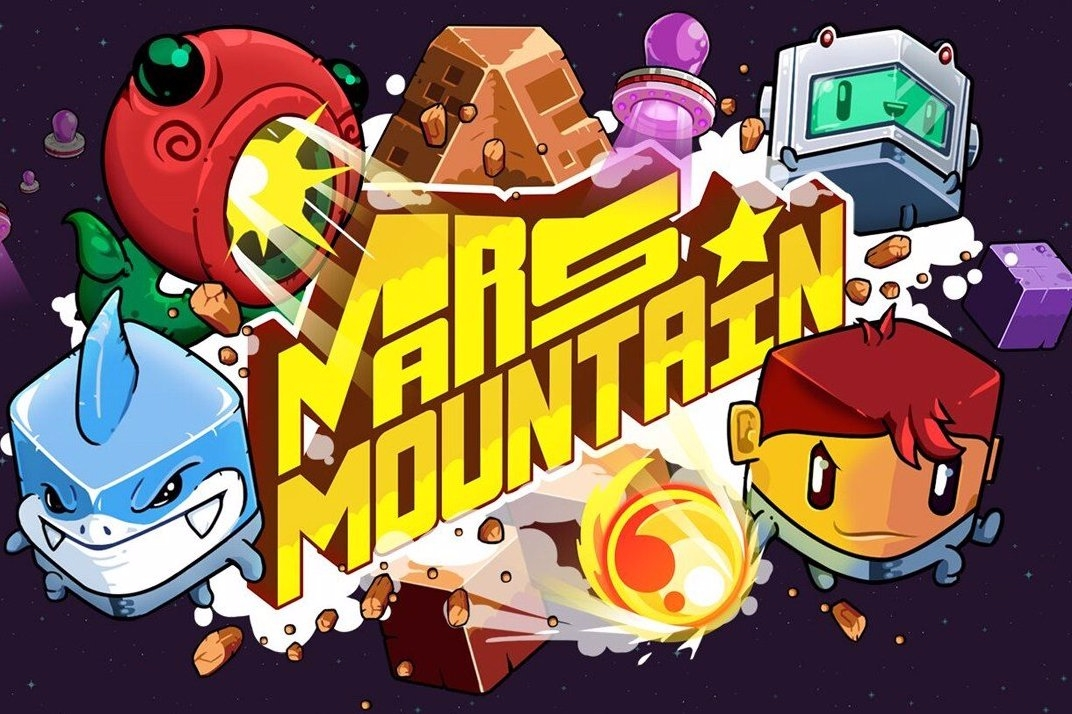 Modojo | Mars Mountain Is A Cheeky Nod to Q*Bert