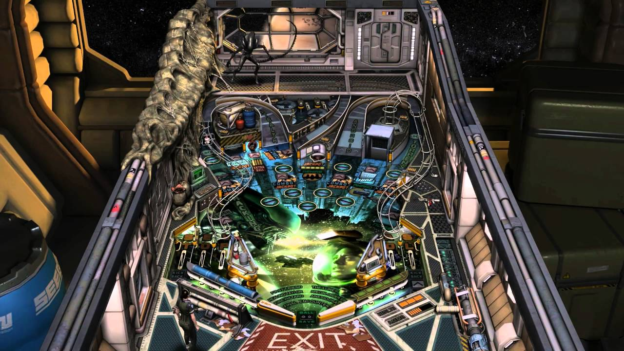 Modojo | The Alien: Isolation Pinball Trailer Is More Awesome Than You Expected