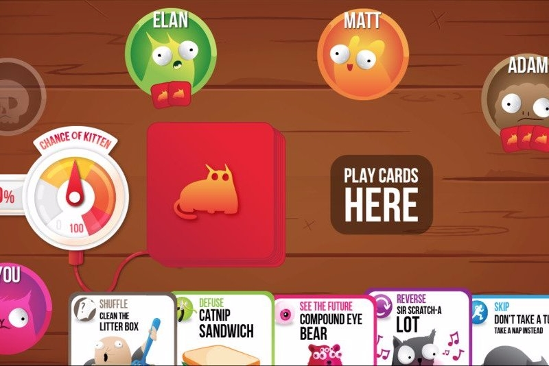 Modojo | This Card Game Wants You To Make Kittens Explode