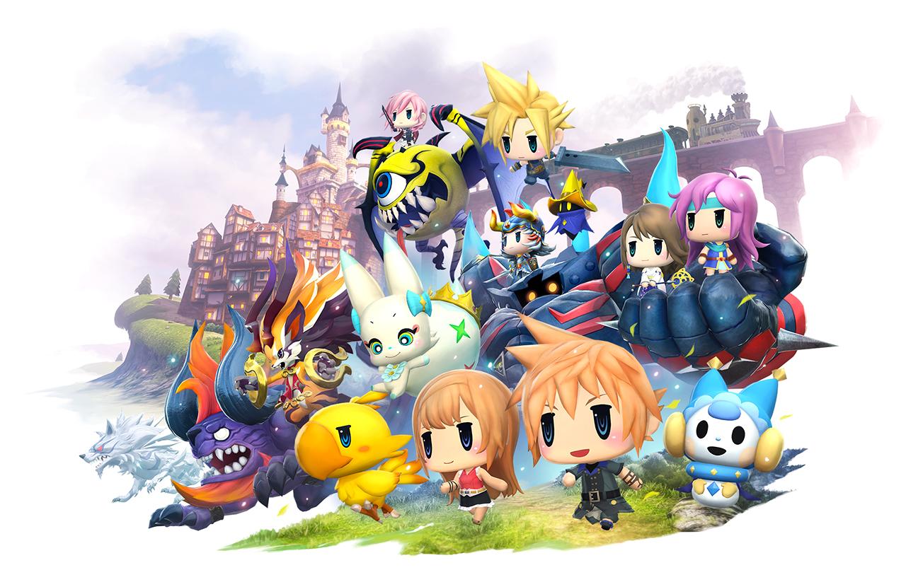 Modojo | World of Final Fantasy Frolicking To PS Vita This October