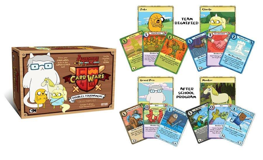 Modojo | Adventure Wars Is Getting A Card Wars Sequel