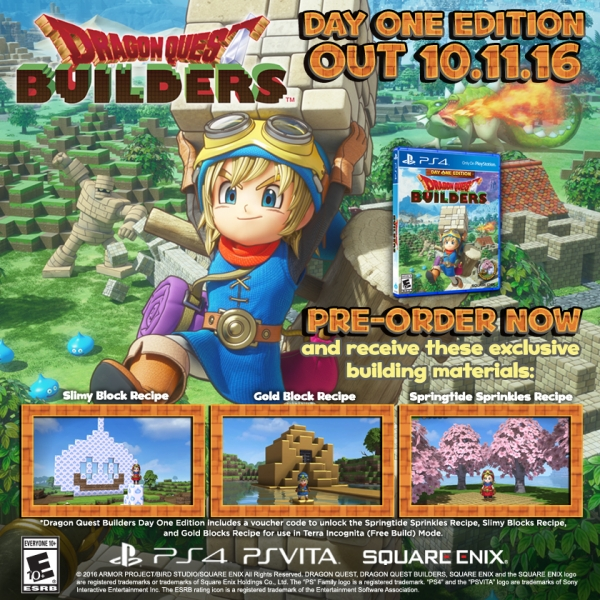 Modojo | Dragon Quest Builders Gets A Day One Edition