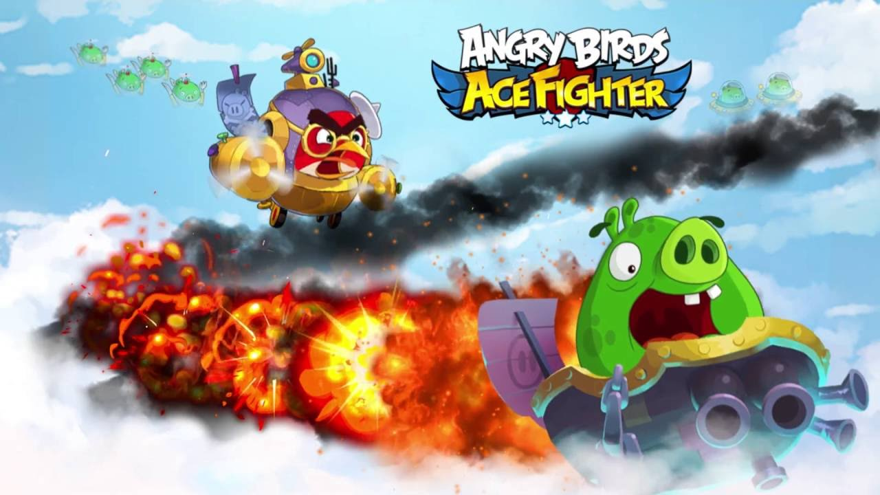 Modojo | Angry Birds: Ace Fighter Isn't Your Typical Angry Birds Game
