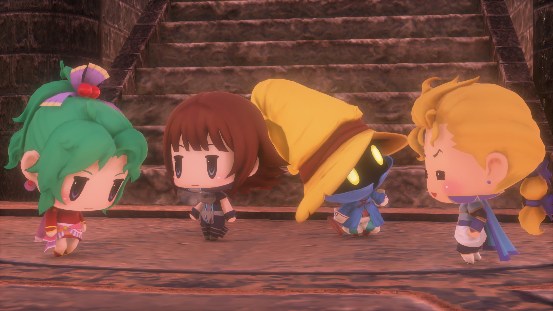 Modojo | World of Final Fantasy Gets a Demo October 17