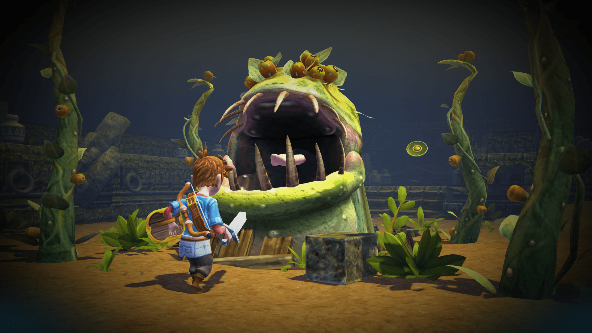 Modojo | Oceanhorn: Monster of Uncharted Seas Coming to a 'Nintendo Console' Soon
