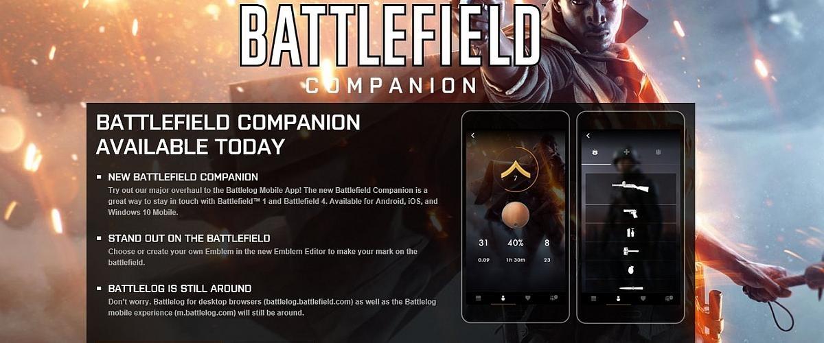 Modojo | Battlefield Companion App Launches In Time For Trench Warfare