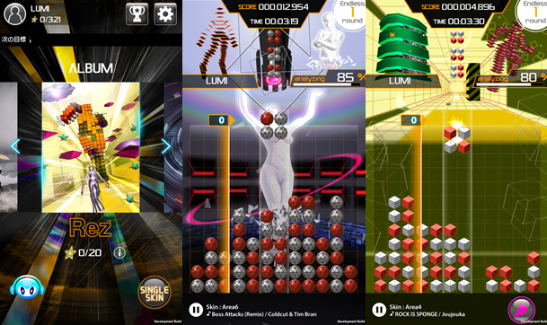 Modojo | Lumines Puzzle & Music Gets A Special Rez Track Pack