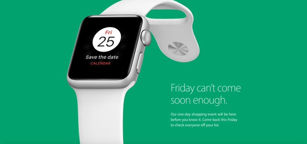 Modojo | Apple Teases a One-Day Black Friday Sale Both Online and in Its Stores
