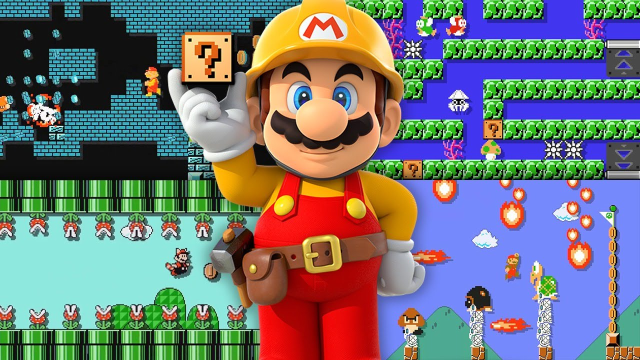 Modojo | Super Mario Maker Review: Social Anxiety