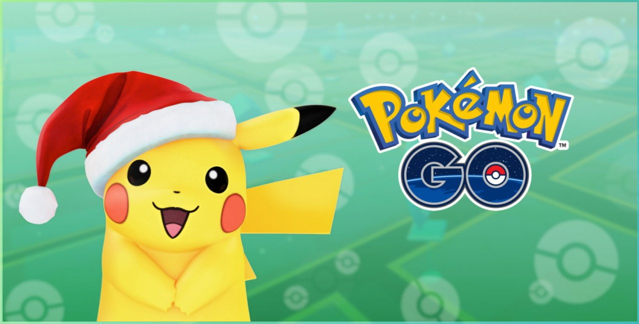 Modojo | More Pokemon Arrive in Pokemon Go's Holiday Update to Help Pikachu Celebrate Christmas