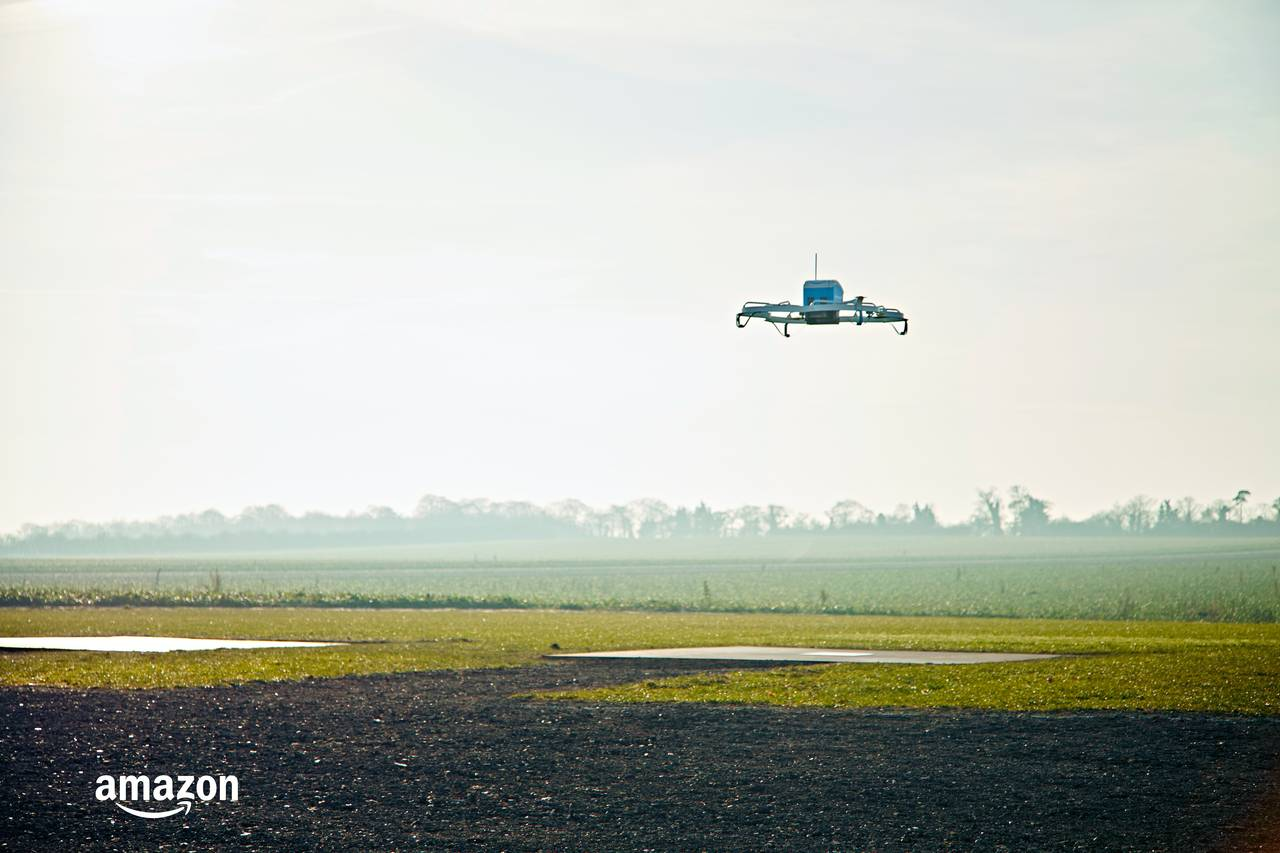 Modojo | Amazon Completes Its First Drone Delivery