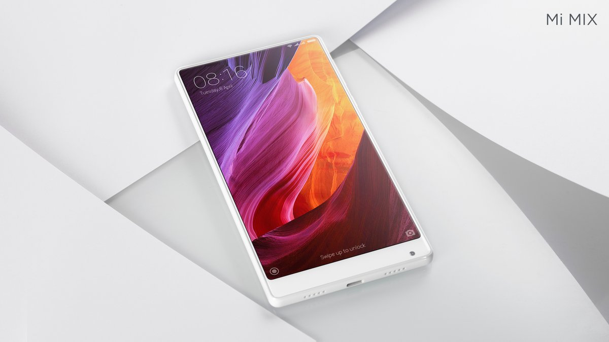 Modojo | CES 2017: Xiaomi Announces White Mi MIX Smartphone
