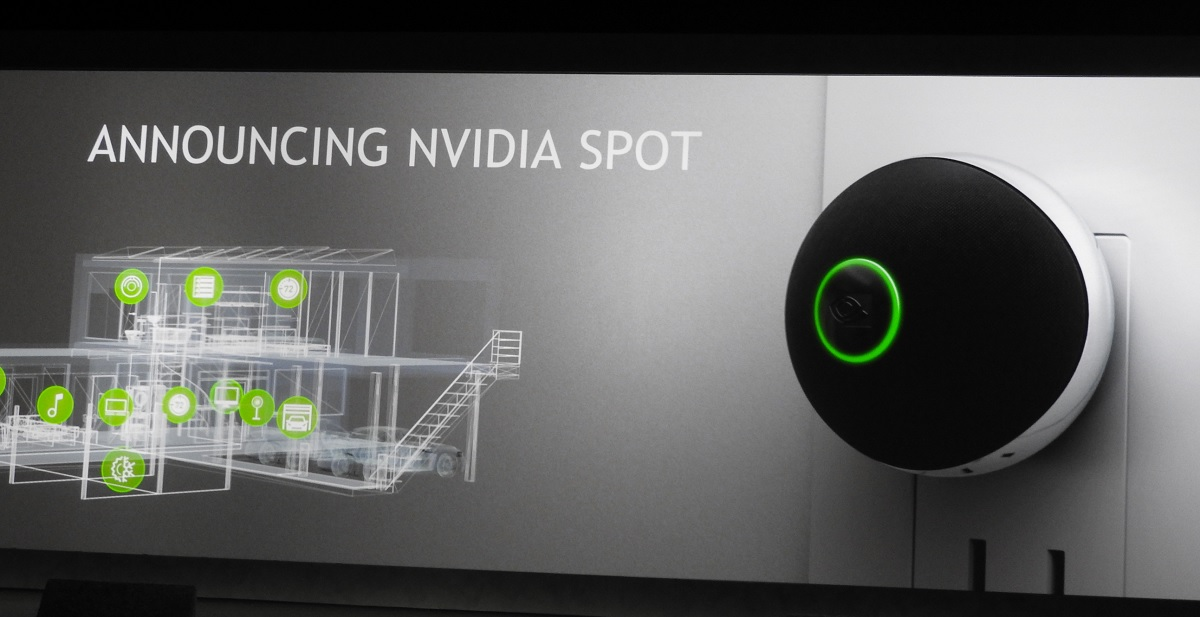 Modojo | CES 2017: Nvidia Reveals The Nvidia Spot Home Assistant