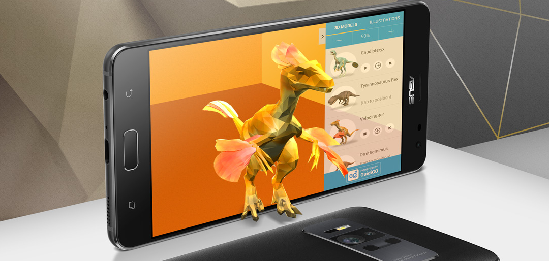 Modojo   CES 2017: ASUS ZenFone Puts AR and VR in a Single Package