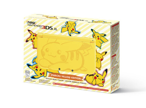 Modojo | Nintendo Is Releasing Another Pikachu-Themed Nintendo 3DS