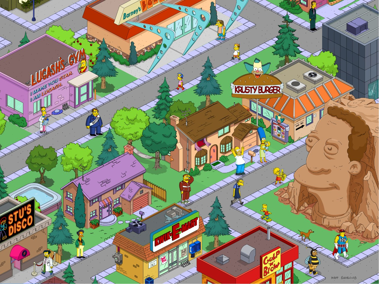 Modojo | The Simpsons Tapped Out Receives New Update