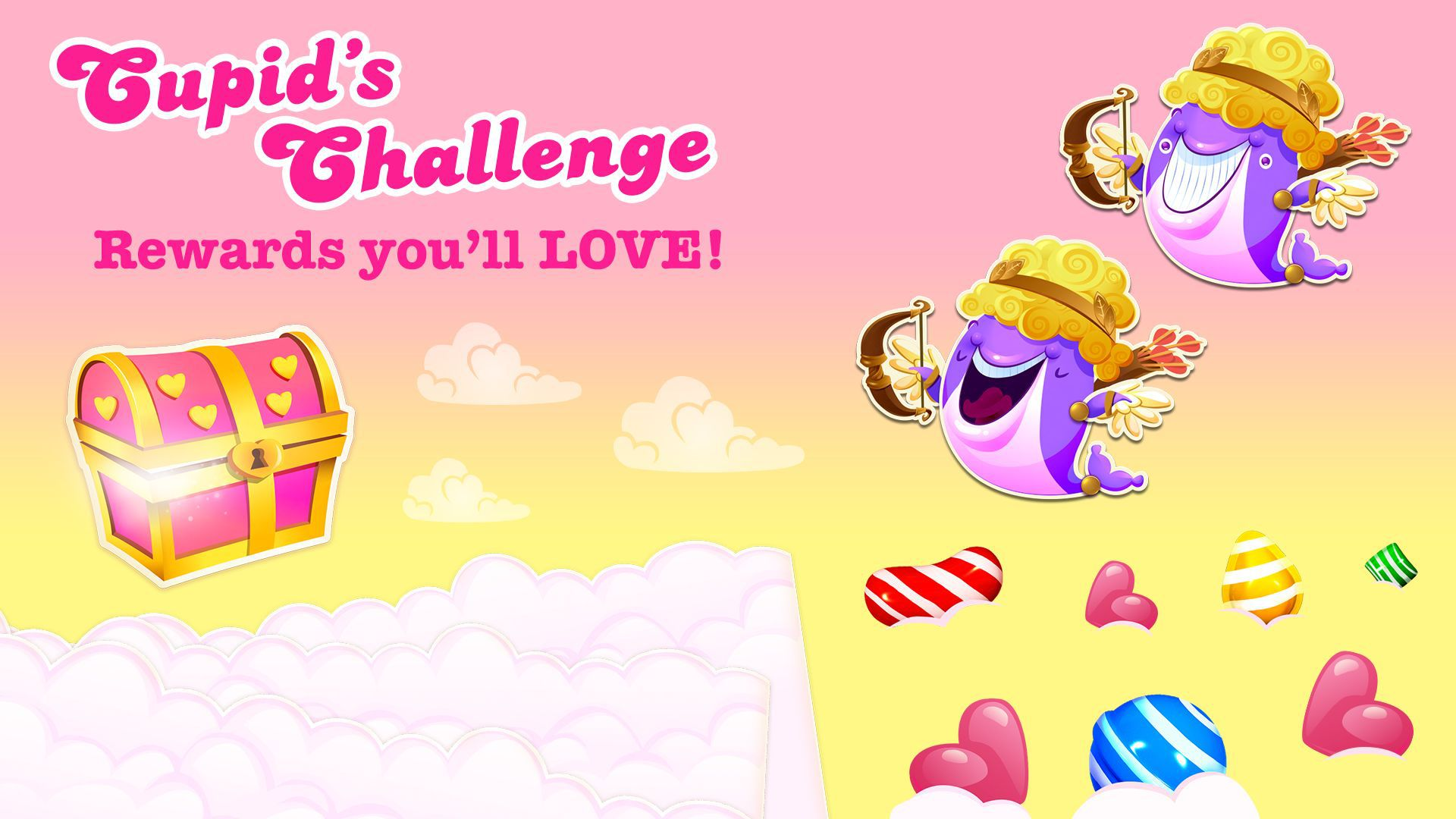 Modojo | Candy Crush Saga Gets Competitive With Cupid's Challenge
