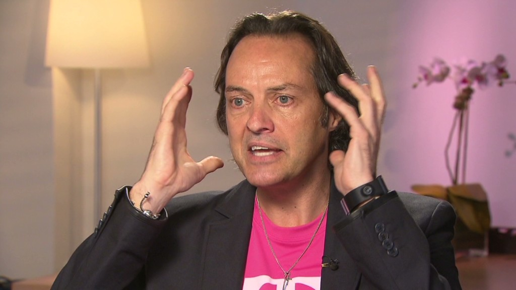 Modojo | T-Mobile's John Legere Responds To Verizon's 'Unlimited' Data Plan