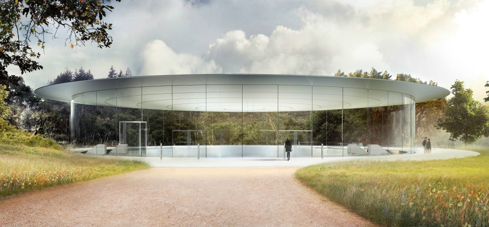 Modojo | Apple Park's Monumental Glass Auditorium To Open Later This Year
