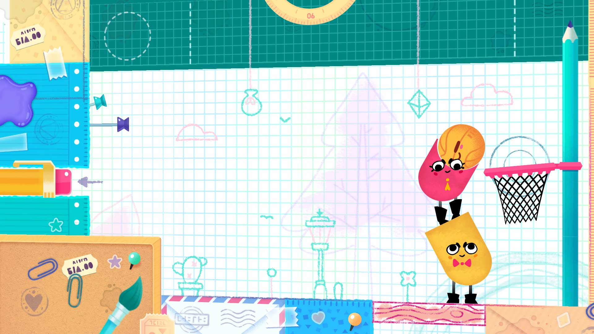 Modojo | Snipperclips Carves Itself A March 3 Release