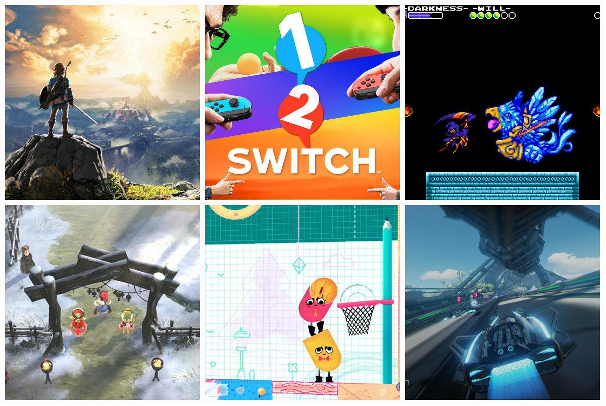 Modojo   Every Nintendo Switch Launch Title