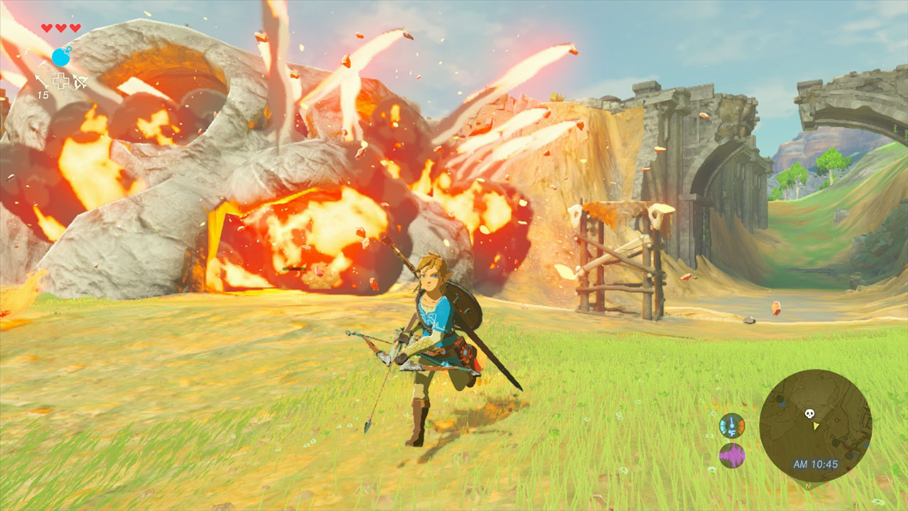 Modojo   Breath Of The Wild On Switch Runs Smoother In Portable Mode
