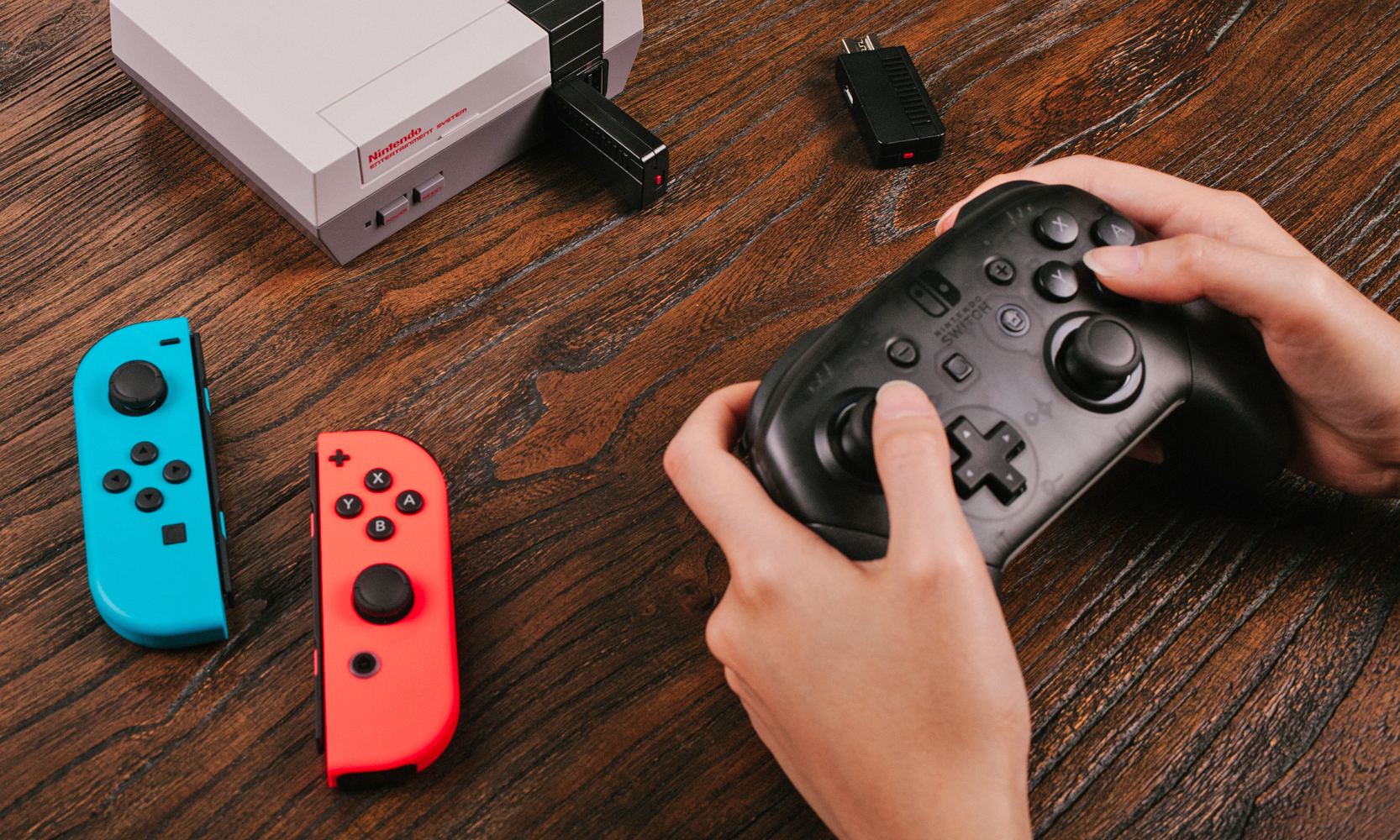 Modojo | You Can Now Play The NES Classic Edition With Joy-Con Controllers