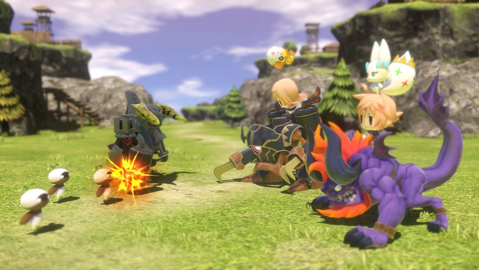 Modojo | World of Final Fantasy Patch Speeds Up The Action