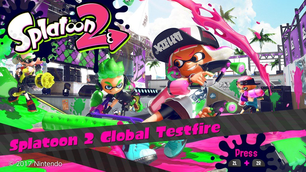 Modojo | Splatoon 2 Global Test-fire Occurring This Weekend