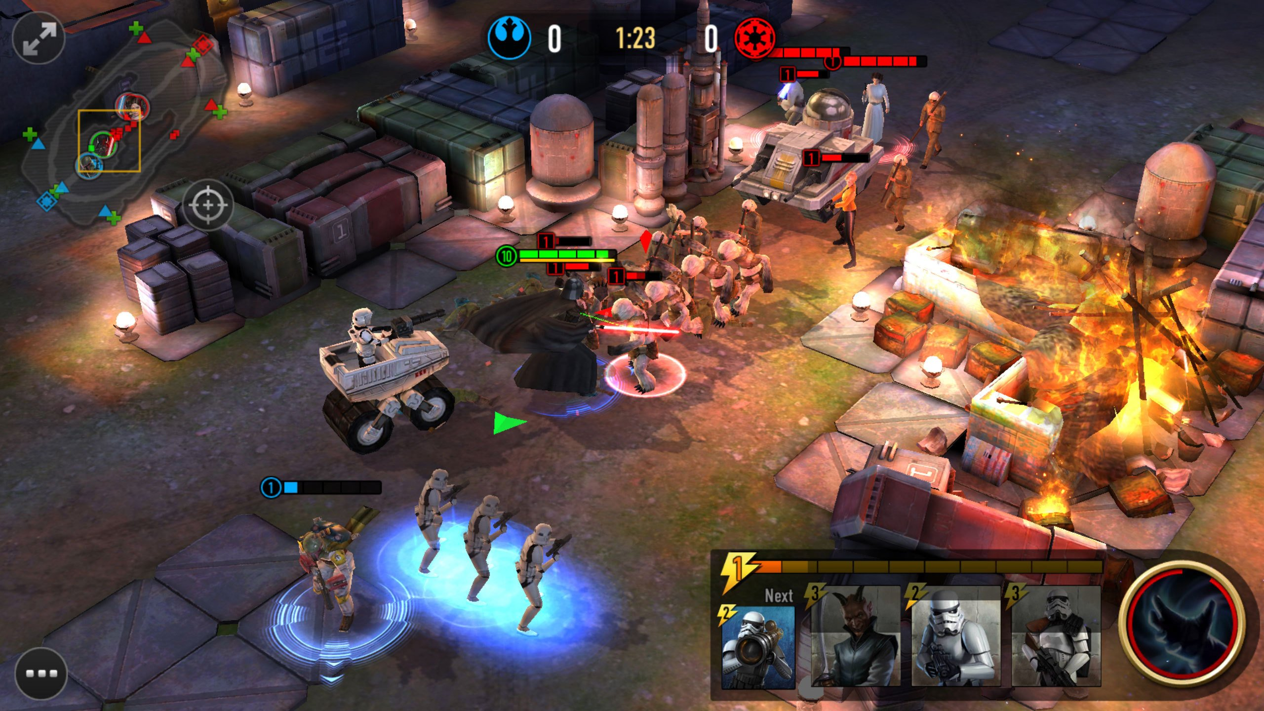 Modojo | Star Wars: Force Arena Update Sees New Characters And Balancing Tweaks