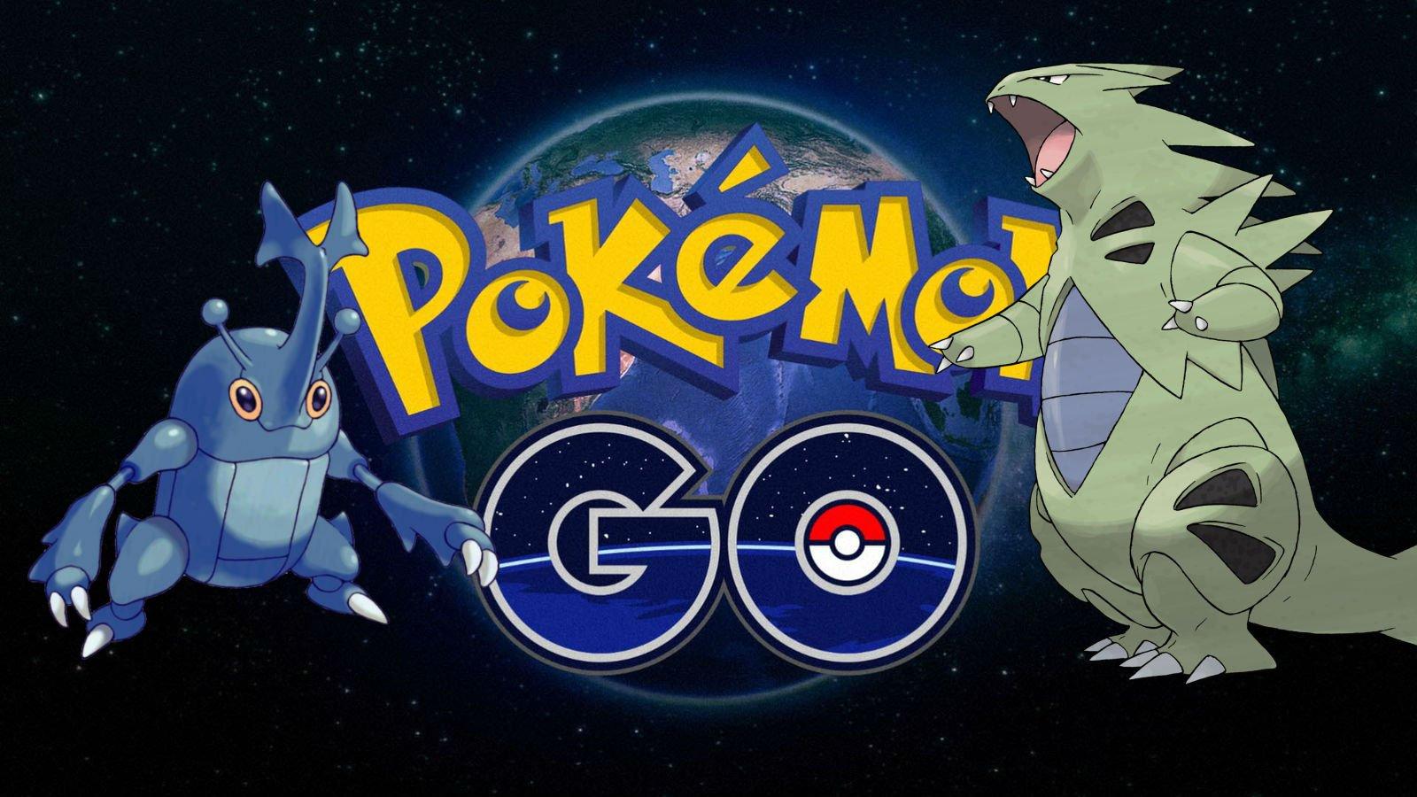 Modojo | Pokemon Go: Catching Heracross and Tyranitar