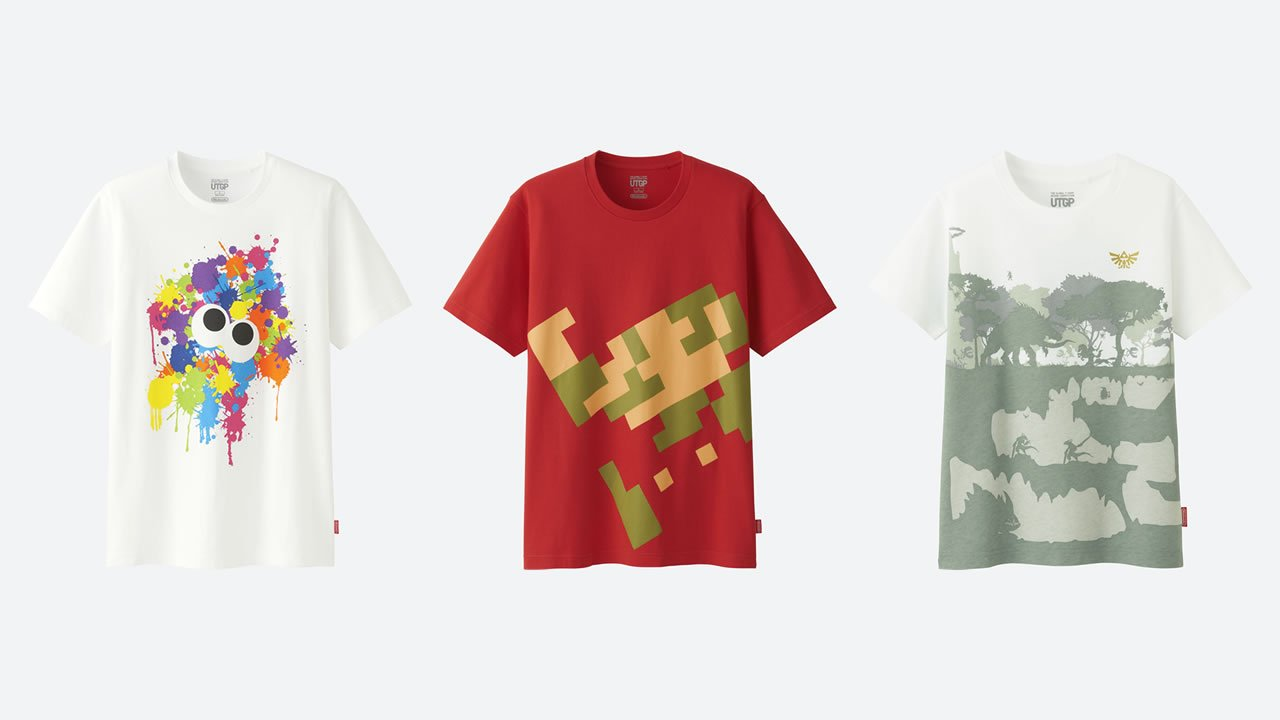 Modojo | Check Out Uniqlo's New Nintendo Shirt Designs