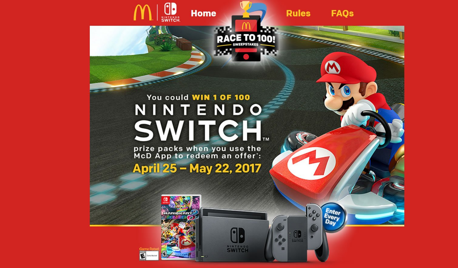 Modojo | McDonald's Is Now Running A Nintendo Switch Giveaway