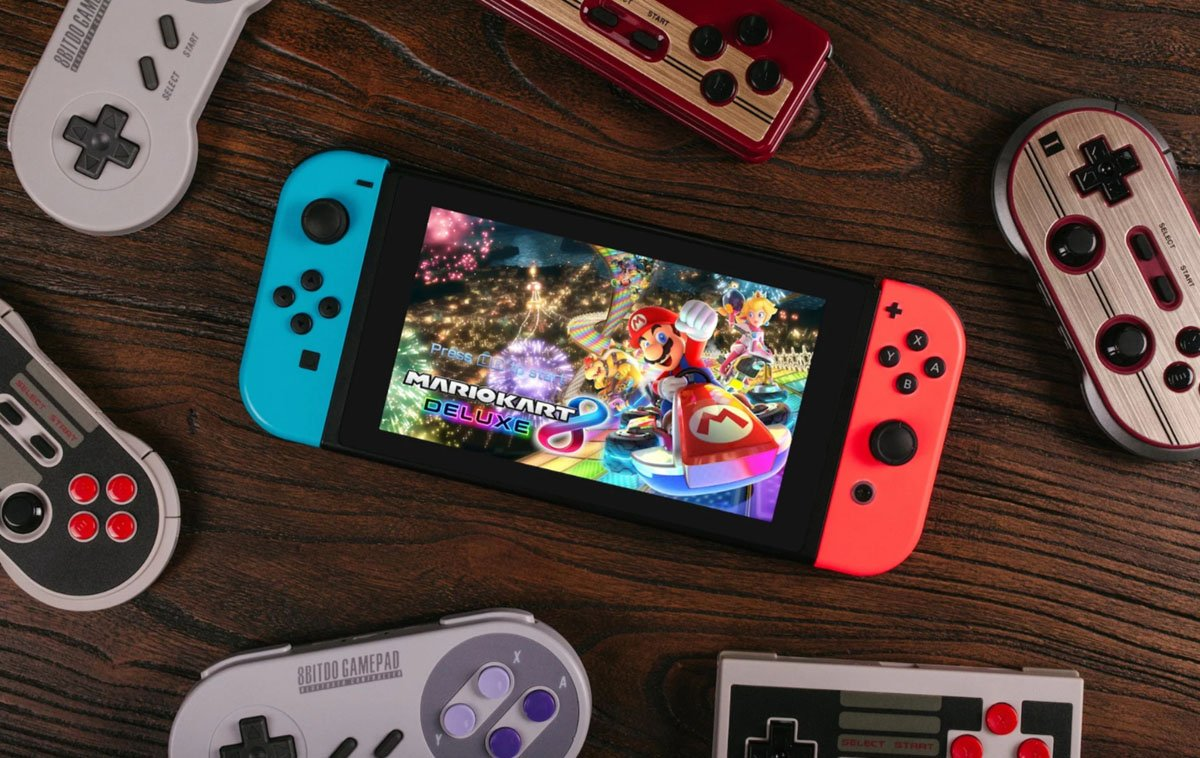 Modojo | How To Connect 8bitdo Controllers To Nintendo Switch